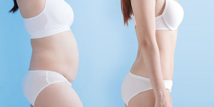 Imagine Yourself Without Belly Fat